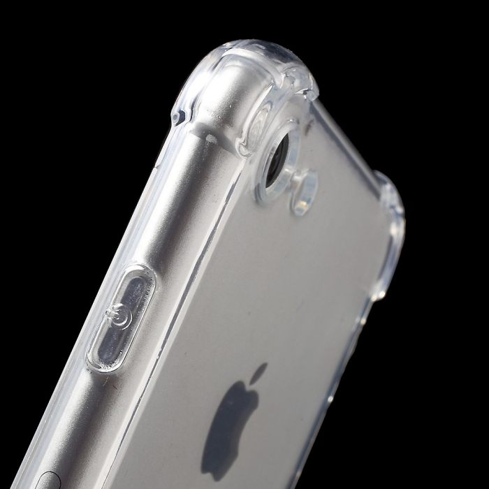 Husa silicon transparent anti shock Iphone 5/5s 4