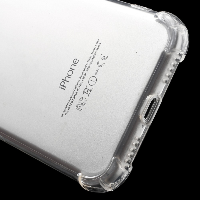 Husa silicon transparent anti shock Iphone 5/5s 0