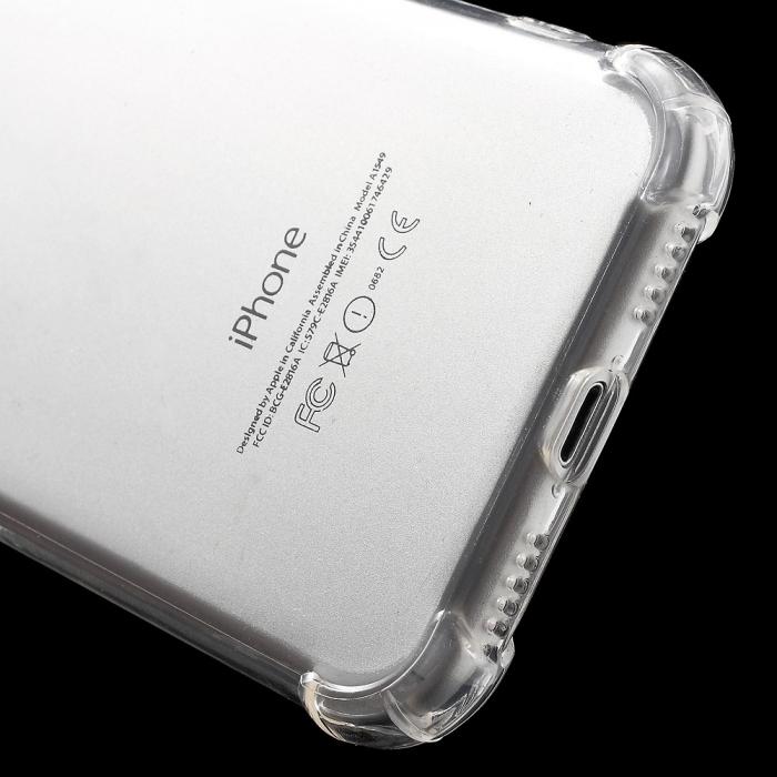 Husa silicon transparent anti shock Iphone 7/8 3