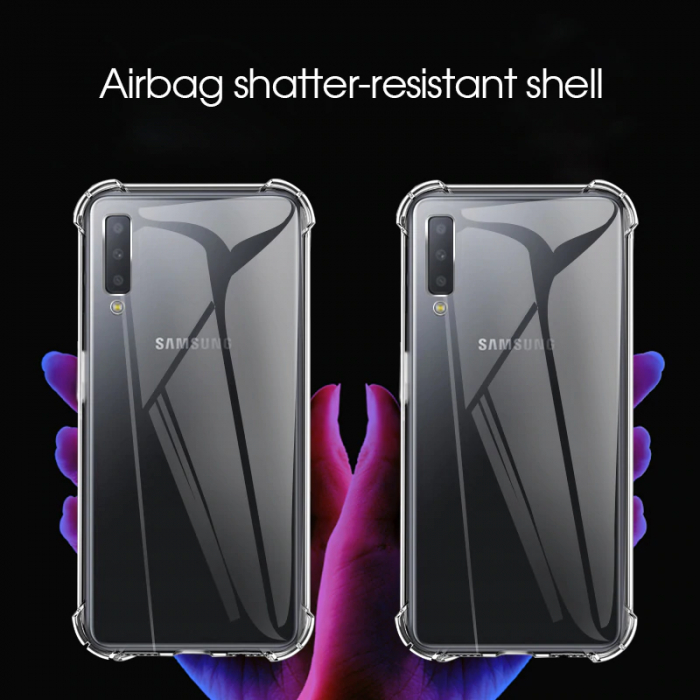 Husa silicon transparent anti shock Samsung A10 1