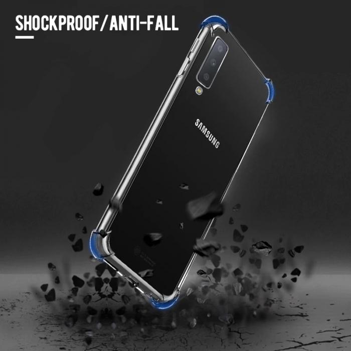 Husa silicon transparent anti shock Samsung A10 3