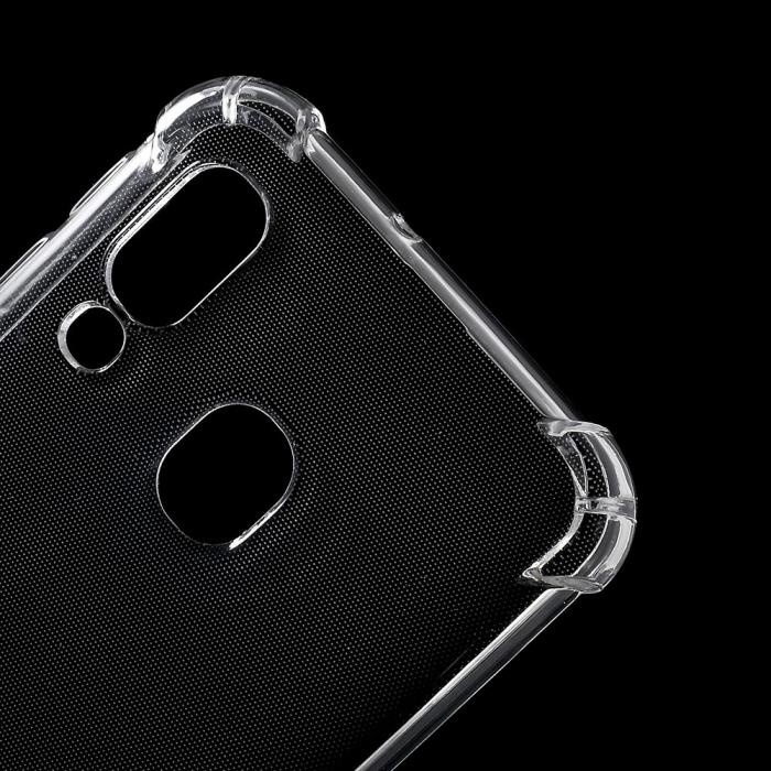 Husa silicon transparent anti shock Samsung A40 1