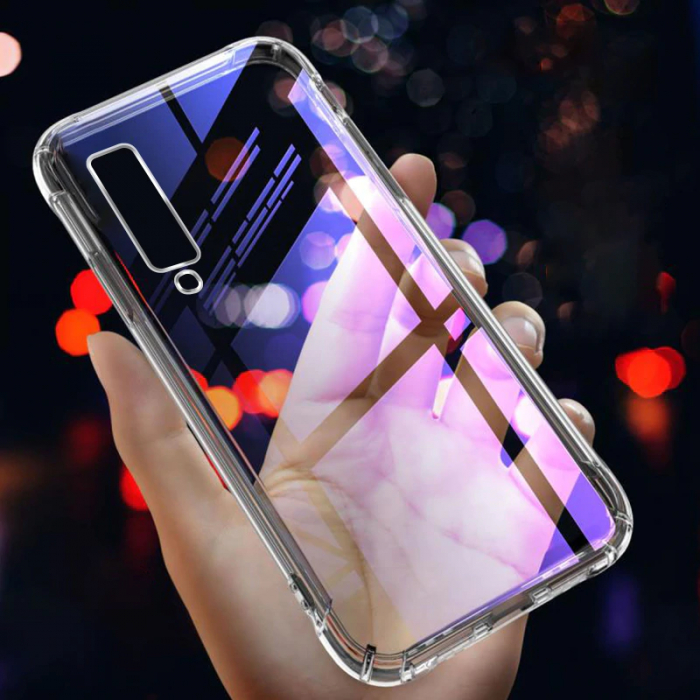 Husa silicon transparent anti shock Samsung A50 0