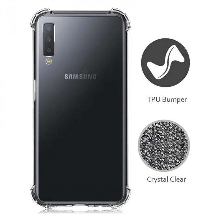 Husa silicon transparent anti shock Samsung A50 1