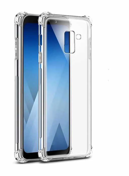 Husa silicon transparent anti shock Samsung A6 plus (2018) 0
