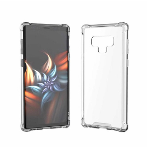 Husa silicon transparent anti shock Samsung Note 9 0