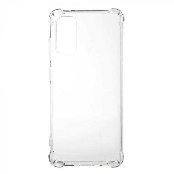 Husa silicon transparent anti shock Samsung S20 Plus 0
