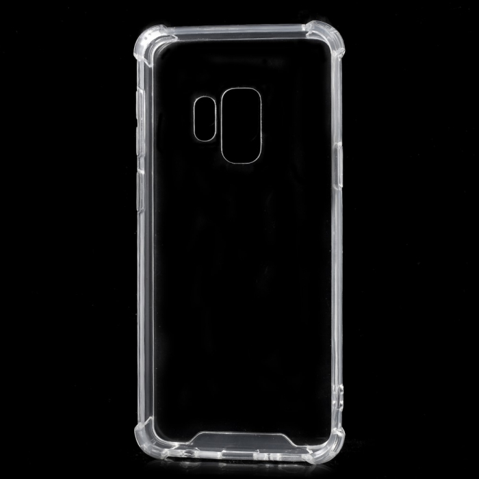 Husa silicon transparent anti shock Samsung S9 0