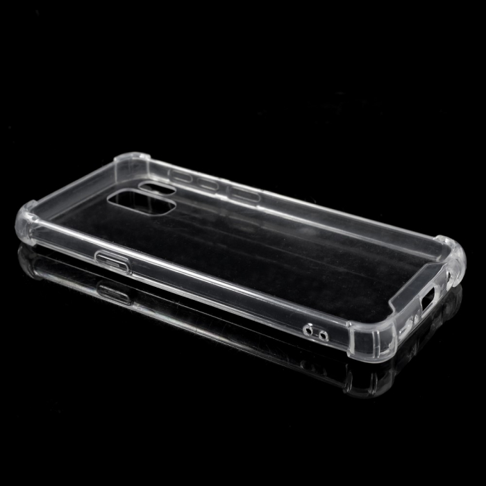 Husa silicon transparent anti shock Samsung S9 1