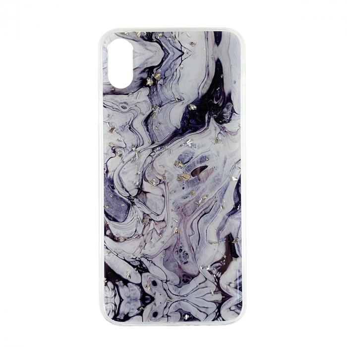 Husa silicon Venus marmura Iphone Xs Max, Negru 0