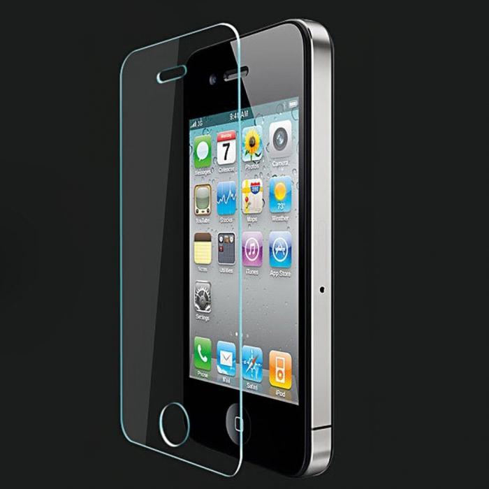 Set 2 folii sticla Iphone 4 0