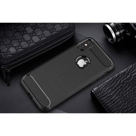 Husa silicon carbmat Iphone X/Xs [2]