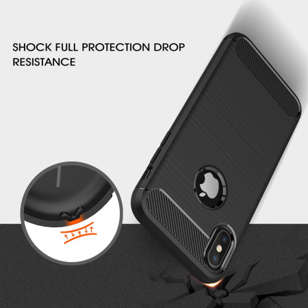 Husa silicon carbmat Iphone X/Xs [1]