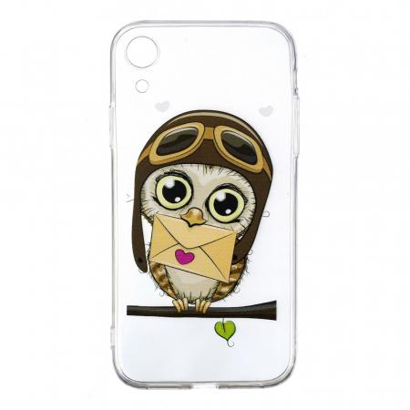 Husa silicon design bufnita Iphone XR0