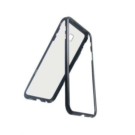 Bumper magnetic Samsung J4 plus - Negru [0]