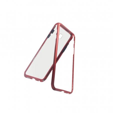 Bumper magnetic Samsung J4 plus - Rosu [0]