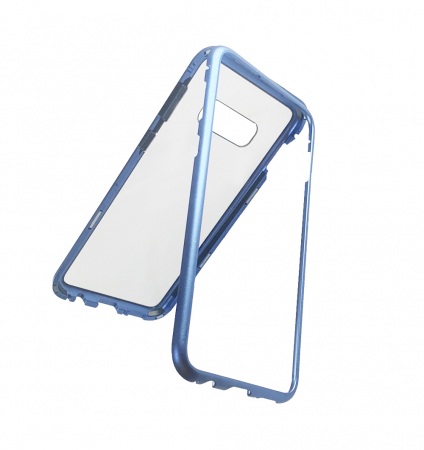 Bumper magnetic Samsung S10E - Albastru0