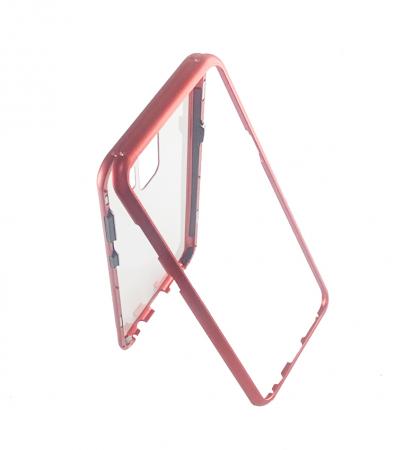 Bumper magnetic Samsung S9 plus, Rosu1