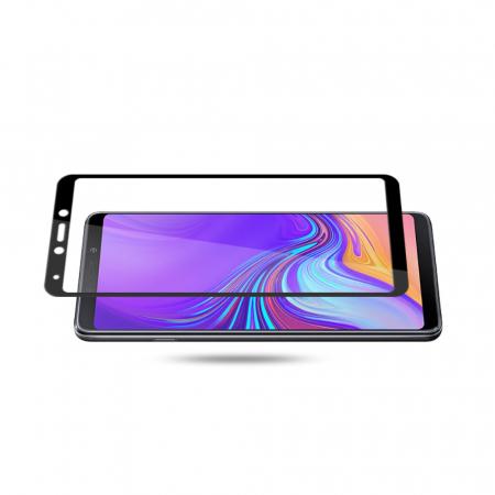 Folie sticla 3D Samsung A9 (2018) - negru [1]