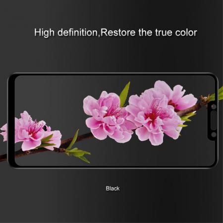Folie sticla 5D Huawei Mate 20 Lite - negru1