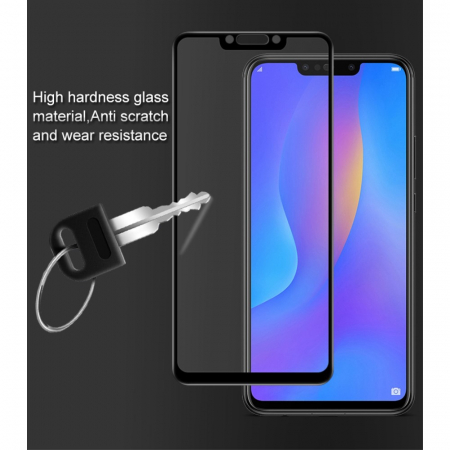 Folie sticla 5D Huawei Mate 20 Lite - negru2