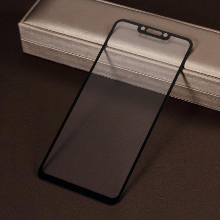 Folie sticla 5D Huawei Psmart (2018) - negru1