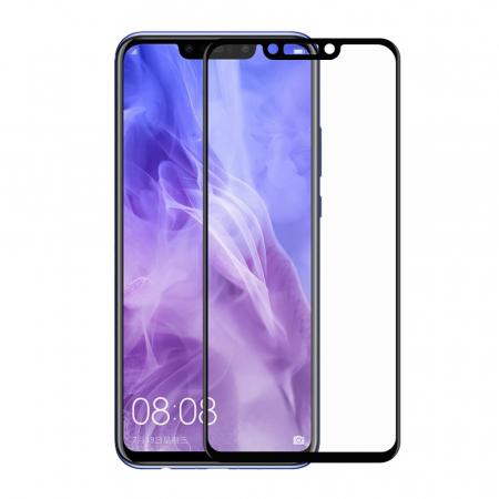 Folie sticla 5D Huawei Psmart (2018) - negru0