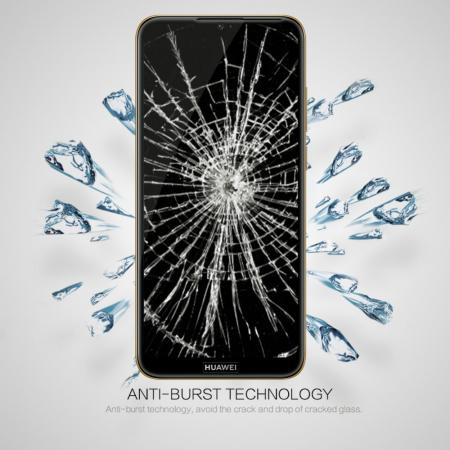 Folie sticla 5D Huawei Y6 (2019) - negru2