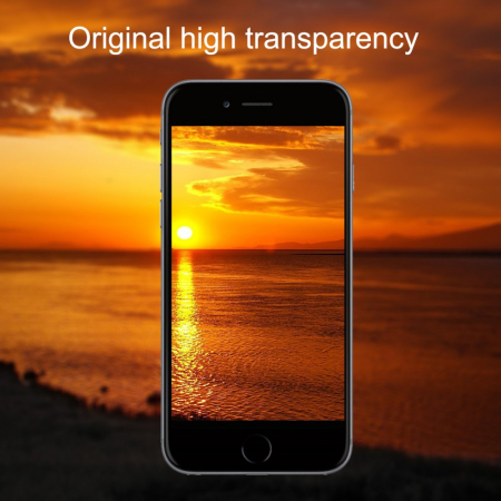 Folie sticla 5D Iphone 7/8 plus - Negru [2]