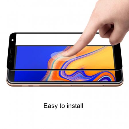 Folie sticla 5D Samsung J4 plus - negru2