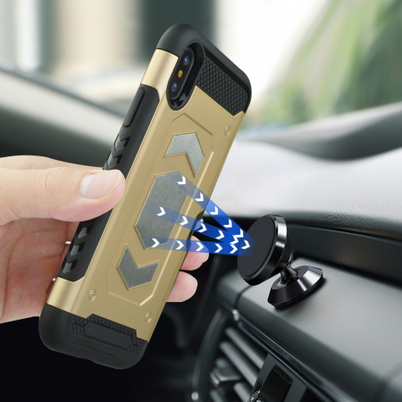 Husa armura auto Iphone X/Xs - 3 culori4