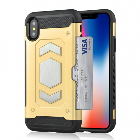 Husa armura auto Iphone Xs Max - 3 culori3