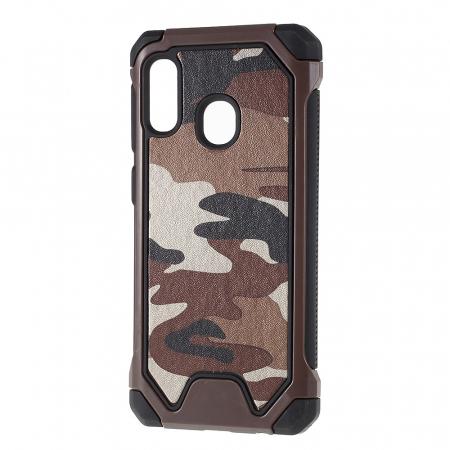 Husa army model camuflaj Samsung A20e - Maro0