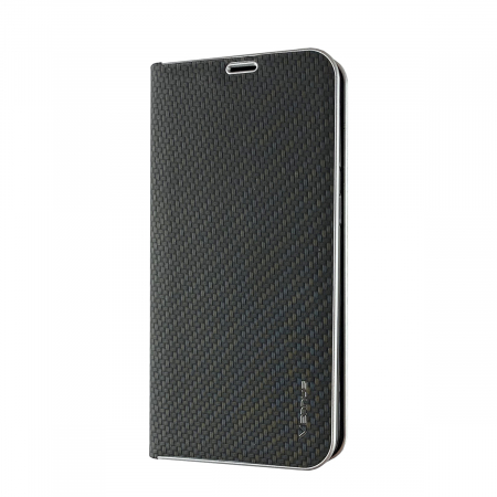 Husa carte Venus carbon Huawei Mate 20 Pro - negru0