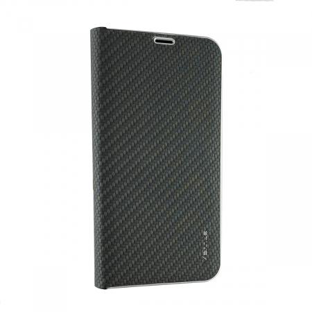 Husa carte Venus carbon Samsung A40  - negru [1]