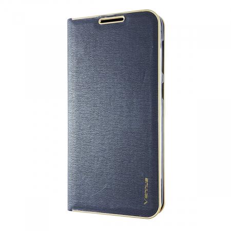 Husa carte Venus Samsung J7 2017 - Albastru0