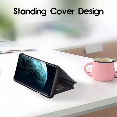 Husa clear view Samsung S10E - 6 culori0