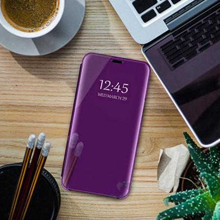 Husa clear view Samsung S8 plus, Mov1
