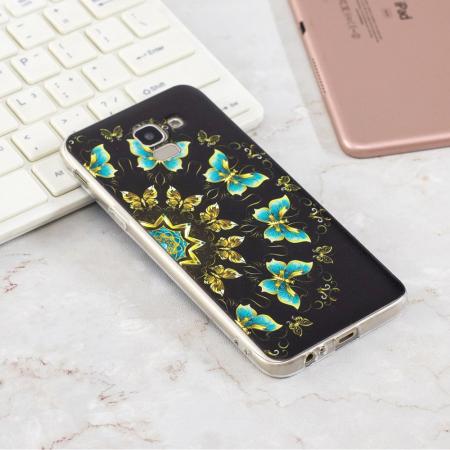 Husa Samsung J6 2018 silicon slim fluturi1