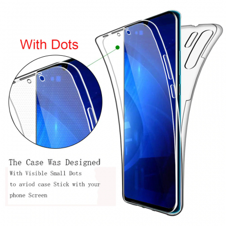 Husa silicon 360 fata+spate Huawei P30 Pro1