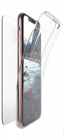 Husa silicon 360 fata+spate Iphone X/Xs1