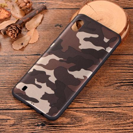 Husa silicon army Samsung A10, Maro1