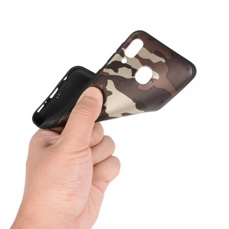 Husa silicon army Samsung A20e - Maro1