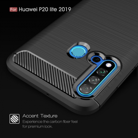 Husa silicon carbmat Huawei P20 Lite (2019)1