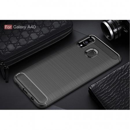 Husa silicon carbmat Samsung A402