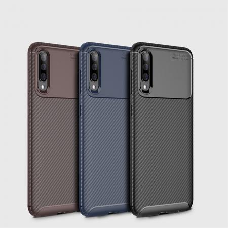 Husa silicon carbon 4 Samsung A70 - 3 culori0