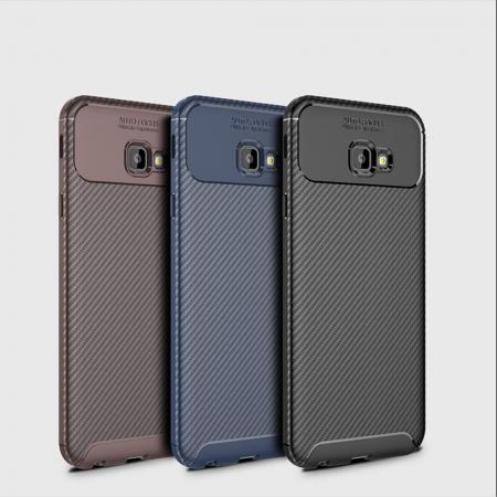 Husa silicon carbon 4 Samsung J4 plus (2018) - Maro0