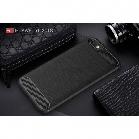 Husa silicon carbmat Huawei Y5 (2018)2