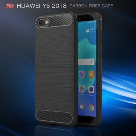 Husa silicon carbmat Huawei Y5 (2018)0