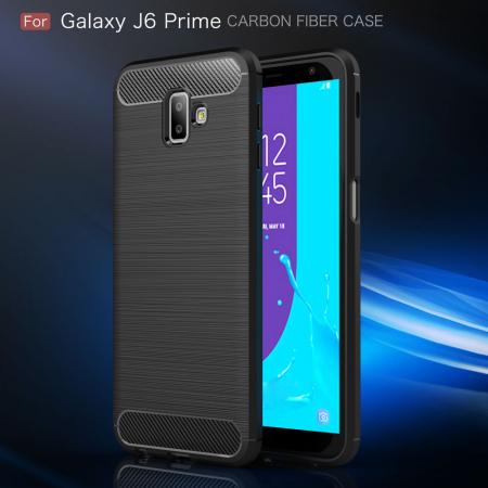 Husa silicon carbmat Samsung J6 plus0